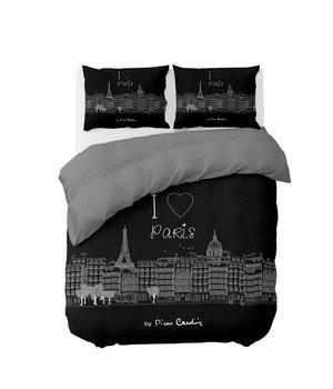 Pierre Cardin dekbedovetrek katoen ''Parijs'' zwart