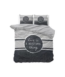 Dreamhouse Bedding katoen dekbedovertrek ''love is beautiful''