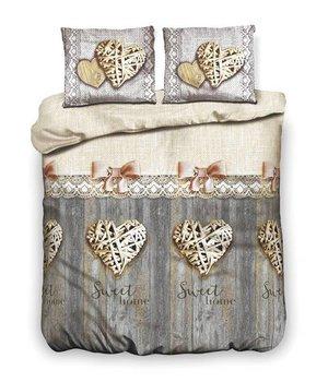 Inspirations dekbedovertrek home sweet grijs