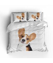 Essara katoen dekbedovertrek ''beagle''