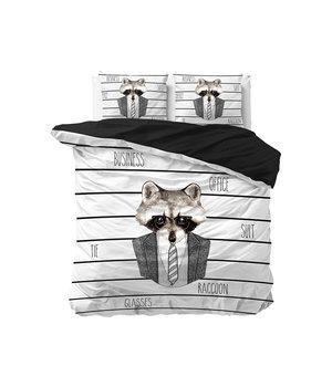 Dreamhouse Bedding katoen bedovertrek ''business'' wit