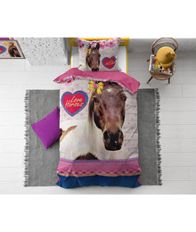 Dreamhouse Bedding Kids dekbedovertrek paarden