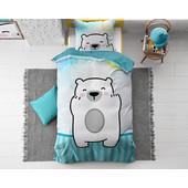 Dreamhouse Bedding Kids dekbedovertrek ''polar bear''