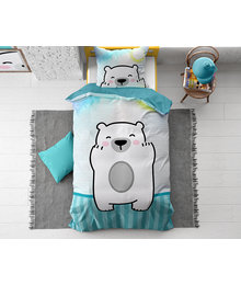 Dreamhouse Bedding Kids dekbedovertrek ''polar bear''