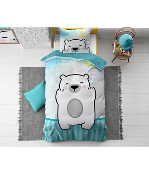 Dreamhouse Bedding Kids dekbedovertrek ''pola bear''