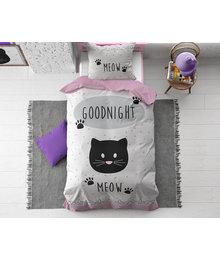 Dreamhouse Bedding Kids dekbedovertrek ''meow''
