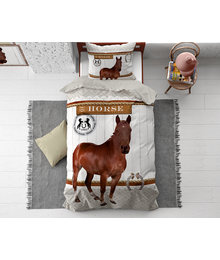 Dreamhouse Bedding Kids dekbedovertrek ''vintage horse''