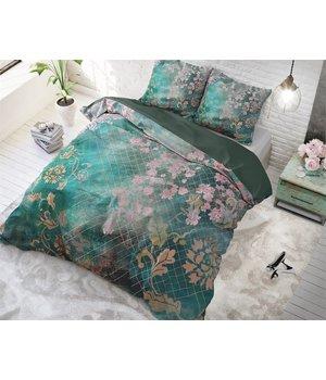 Dreamhouse Bedding katoen dekbedovertrek ''monsoon breeze'' groen