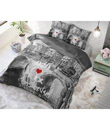 Dreamhouse Bedding dekbedovertrek '' old amsterdam''grijs