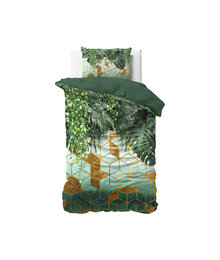 Dreamhouse Bedding Katoen satijn dekbedovertrek  ''Forest Sceptic''