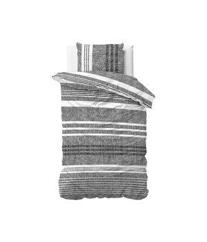 Dreamhouse Bedding Katoen satijn dekbedovertrek ''Caden'' grijs