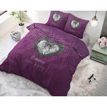 Sleeptime Elegance Dekbedovertrek Wild Love paars