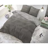 Sleeptime Elegance Dekbedovertrek ''Ombre'' antraciet