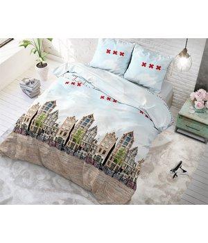 Sleeptime Elegance dekbedovertrek ''old amsterdam'' multi