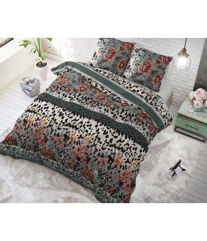 Sleeptime Elegance sexy dekbedovertrek met luipaardprint van 100% katoen