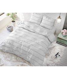 Sleeptime Elegance dekbedovertrekken Wit gestreept
