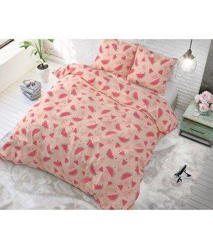 Sleeptime Elegance Katoen Dekbedovertrek ''sweet watermelon'' roze