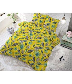 Sleeptime Elegance Katoen dekbedovertrek ''nature'' geel