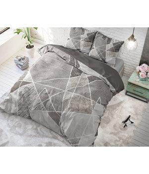 Dreamhouse Bedding dekbedovertrek aanbieding ''Fine lines'' grijs