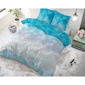 Sleeptime Elegance Dekbedovertrek ''Geometric Ombre'' groen