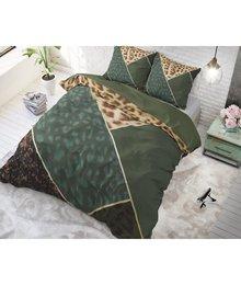 Dreamhouse Bedding katoen dekbedovertrek ''geometric'' met luipaardprint