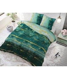 Sleeptime Elegance katoen dekbedovertrek ''sea green''