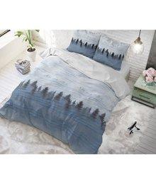 Sleeptime Elegance Katoen dekbedovertrekken ''blue mist''