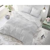 Sleeptime Elegance Kaoten dekbedovertrek ''Matrix'' grijs