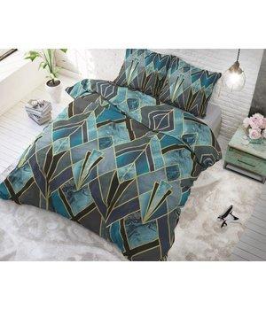 Sleeptime Elegance Katoen dekbedovertrek ''Gatsby'' groen