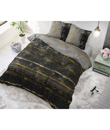 Sleeptime Elegance katoen dekbedovertrek ''Charcoal grey''