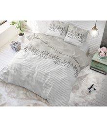 Sleeptime Elegance Dekbedovertrek Beige met strepen