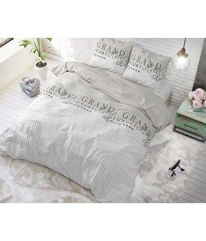 "Sleeptime Elegance Dekbedovertrek Beige met strepen ""Royal Lines"""