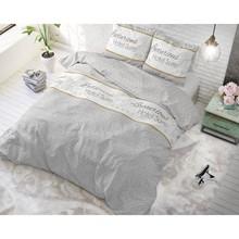 Sleeptime Elegance Dekbedovertrek ''Hotel Suite'' grijs