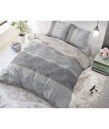 Sleeptime Elegance Dekbedovertrek ''Ombre'' Taupe