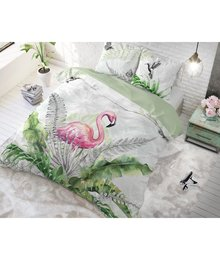 Dreamhouse Bedding dekbedovertrek pink flamingo