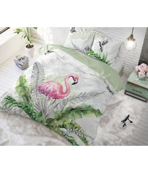 Dreamhouse Bedding dekbedovertrek pink flamingo