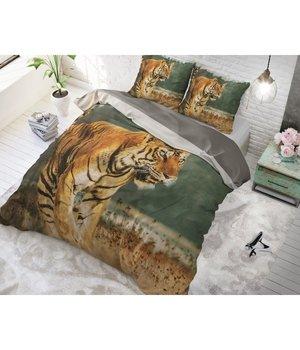 Dreamhouse Bedding dekbedovertrek ''wild tijger'' 200x200/220 maat