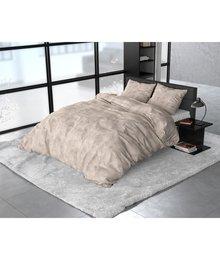 Sleeptime Elegance dekbedovertrek flanellen ''Stone'' beige