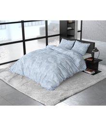 Sleeptime Elegance dekbedovertrek flanellen ''Stone'' blue