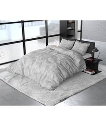 Sleeptime Elegance dekbedovertrek flanellen ''Stone'' grey
