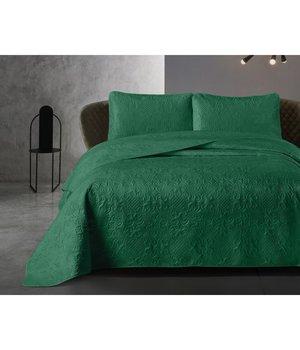 Dreamhouse Bedding Luxe bedsprei ''Clara'' bottle green