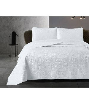 Dreamhouse Bedding Luxe bedsprei ''Clara'' wit