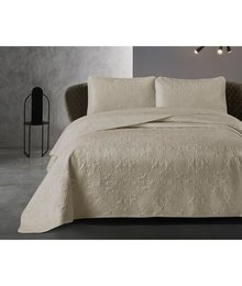 Dreamhouse Bedding Luxe bedsprei '' Clara'' taupe