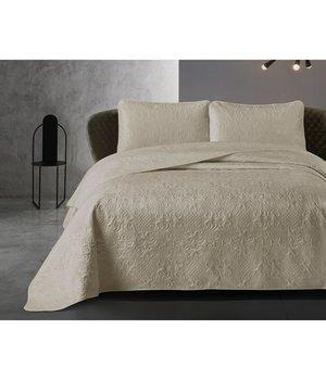 Dreamhouse Bedding Luxe bedsprei ''Clara'' taupe