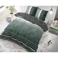 Dreamhouse Bedding dekbedovertrek  ''linnenlook'' emerald green