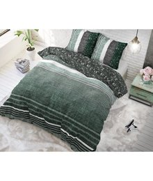 Dreamhouse Bedding dekbedovertrek  ''linnenlook'' emerald green