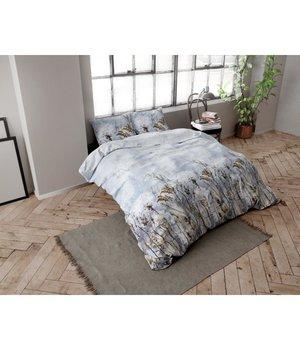 Dreamhouse Bedding Flanellen Dekbedovertrek Bloem in 2 Persoons 200x220