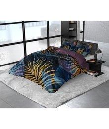 Dreamhouse Bedding Katoen satijn dekbedovertrek ''Marina'' navy