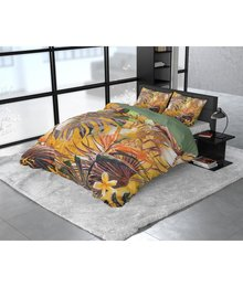 Dreamhouse Bedding Katoen satijn dekbedovertrek ''Nature fusion'' multikleur
