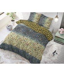 Sleeptime Elegance trendy tijgerprint dekbedovertrek groen